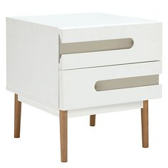 Buy House by John Lewis Notch 2 Drawer Bedside Table from our Bedside Cabinets & Tables range at John Lewis & Partners. Bedside Cabinet, Nightstand, Bedside Tables, Loft Furniture, Furniture Ideas, Home Buying, John Lewis, Drawers, Bedroom Decor