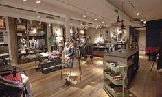 Pepe Jeans London flagship store by Francisco Segarra, Amsterdam