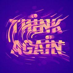 Think Again - Tomas Brechler on Behance