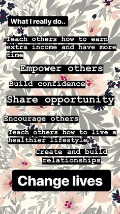 This is what I really do! It's more than selling products! I love Arbonne!