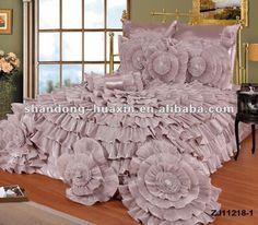 Beige Bedding Sets, Elegant Comforter Sets, Luxury Comforter Sets, Satin Bedding, Luxury Bedspreads, Designer Bed Sheets, How To Dress A Bed, Luxurious Bedrooms, My New Room