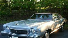 1973 Chevrolet Monte Carlo  my brother had one...white w/dark red vinyl