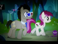 Its ten and rose. MLP It Ain't Easy Being Breezies