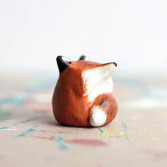 Le Red Fox Fat-Fat Totem - Made to Order Pocket Totem by leanimale on Etsy