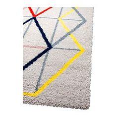randlev teppich flach gewebt ikea sound proofing measures pinterest ikea teppiche und weben. Black Bedroom Furniture Sets. Home Design Ideas