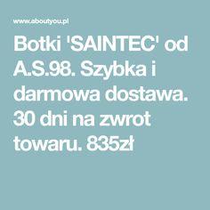 164d9a81f4e19e Botki 'SAINTEC' od A.S.98. Szybka i darmowa dostawa. 30 dni na zwrot  towaru. 835zł