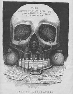 "E. W. Kemble: ""Death's Laboratory"", 1905"