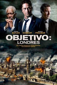 Descargar gratis Londres Bajo Fuego pelicula completa en HD español latino