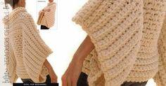 Pop Over Crochet Poncho