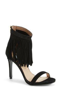 'Staarz' Ankle Fringe Sandal (Women) by Steve Madden on @nordstrom_rack