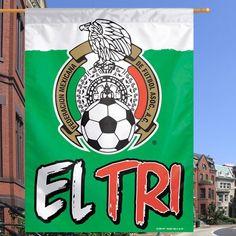 "Mexico WinCraft 27"" x 37"" Vertical Flag – - $14.99"