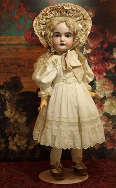 Mark: K Made in Germany 14 1/2 164 This is a gorgeous 24 antique doll with exquisite painting, classic modeling and child like expression with the