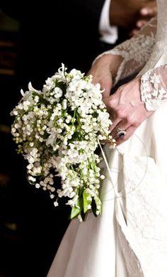 Bukiet ślubny Kate Middleton/ Kate's wedding bouquet.
