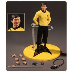 Star Trek Sulu 1:12 Collective Action Figure - Mezco Toyz - Star Trek - Action Figures at Entertainment Earth