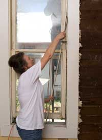 Tips on how to restore old Sash windows --- might be a way to salvage the old 4 pane double hung vintage 1920s windows
