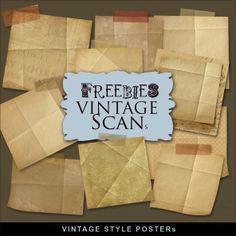 Far Far Hill: Freebies Old Style Scrap Posters