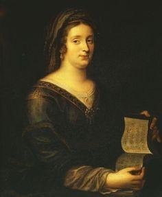 Madame de MAINTENON, Francoise d'AUBIGNE, 1636-1719, governess to the royal children at Versailles, 17th century