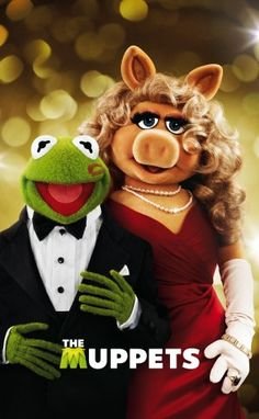 Items similar to Muppets Kermit and Miss Piggy on Etsy Caco E Miss Piggy, Miss Piggy Kostüm, Kermit And Miss Piggy, Miss Piggy Muppets, Jim Henson, The Muppets 2011, Sapo Kermit, Pixar, Danbo