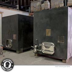 Are you a #craftbeer #beermaker ? 26 bbl Concrete Square Tanks from #concretebeertanks .com, More yield per sq. ft. than the egg shape. Create amazing, new #beer flavors and WOW your #brewery guests! Great for #stout, #porter, #wildbeer, #sourbeer. Choice of color, logo placement, temp-control. Large man ways, easy cleaning. Guaranteed not to crack or leak. From Sonoma Cast Stone. Made in the US. Learn more at tinyurl.com/grf2qbk #beerporn #beerstagram #beersnob #instabeer…