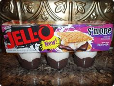 New Jell-O Pudding Snacks S'more & Strawberry Sundae Review from 2Wired2Tired