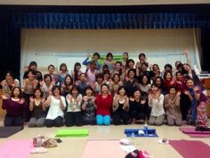 Okinawa people joined Odaka yoga ocean flow ... So much energy