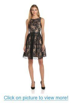 Jessica Howard Women's Shirred-Neck Party Dress