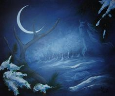 Winter Moon by Colleen Koziara