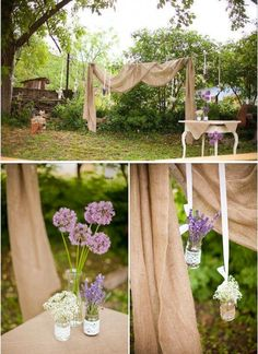 Handmade wedding decoration