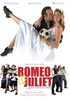 """A few years after making """"Bossa Nova"""", Bruno Barreto directed this Brazilian movie, """"O Casamento de Romeu e Julieta"""", which is another, even better, soccer date movie. This romantic comedy* capitalizes on the antics of Romeo, who is leader of a Corinthians fan club that includes his hysterically fanatical grandmother. He pretends to be a fan of archrival Palmeiras, in order to be accepted by Juliet's father, who is their fanatical club chairman.  In Portugese with English subtitles."""