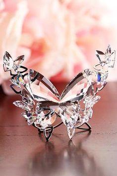 Swarovski Crystal Figurine BUTTERFLY Aurore Boreale #5031512 - Zhannel  - 2