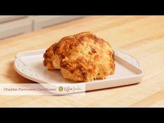 Cheddar Parmesan Baked Cauliflower recipe « G-Free Foodie