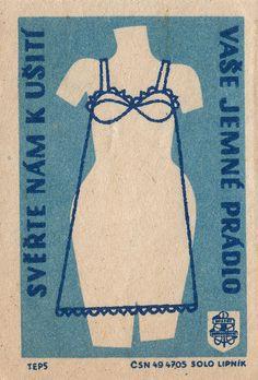 czechoslovakian matchbox label by maraid, via Flickr