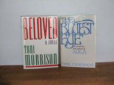 Toni Morrison Book Set  Beloved & The Bluest Eye by jessamyjay