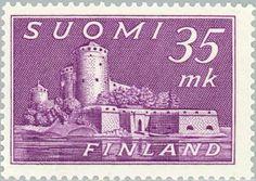Sello: Stronghold Olavinlinna (Finlandia) (Stronghold Olavinlinna) Mi:FI 360,Yt:FI 344