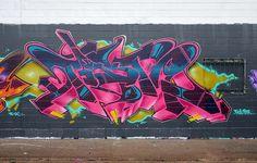 flexed with EAST by Its The Pleats..., via Flickr Graffiti Writing, Graffiti Designs, Graffiti Wall Art, Graffiti Styles, Graffiti Lettering, Best Graffiti, Street Art Graffiti, Graffiti Pictures, Graffiti Characters