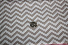 Chevron - David Textiles Fabric - One yard - Brown on brown - pinned by pin4etsy.com