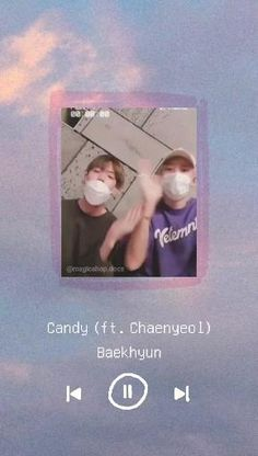 Exo Music, K Pop Music, Chanyeol Cute, Exo Songs, Baekhyun Wallpaper, Exo Chanbaek, Lyrics Aesthetic, Exo Couple, Songs