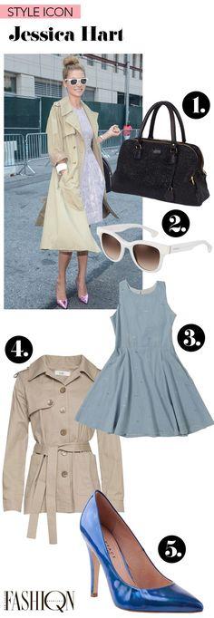 Style Icon: Jessica Hart