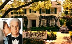 "Do you recognize this Pasadena, CA home it was Steve Martin's house in ""Father of the Bride""."