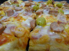 El Rincón de Bego: Masa de pizza sin gluten ...deliciosa Grain Free, Dairy Free, Pizza Sin Gluten, Gluten Free Recipes, Healthy Recipes, Empanadas, Hawaiian Pizza, Sans Gluten, Cheeseburger Chowder