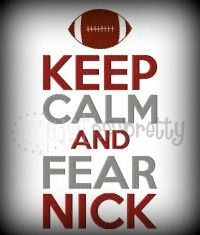 Keep Calm Fear Nick
