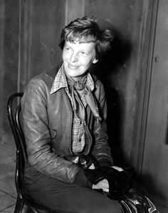 Amelia Earhart is shown on June at an unknown location. Earhart, became the first woman to fly solo in a nonstop flight across the Atlantic on May Female Pilot, Female Hero, Amelia Earhart Picture, I Look To You, Rugged Style, Best Selling Books, Historical Photos, Historical Women, Women In History