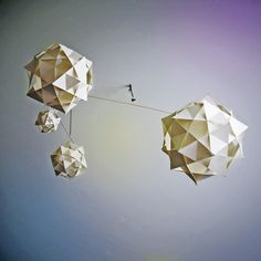 Geometric Mobile by celestialvisions