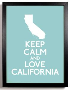 No matter where I live, California will always be home and I will always love going home...even if it's just for a visit!:)
