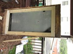 Awesome Rustic Cooler From Broken Refrigerator and Pallets : 11 Steps (with Pictures) - Instructables Wood Cooler, Diy Cooler, Outdoor Refrigerator, Refrigerator Cooler, Wood Shop Projects, Woodworking Projects Diy, Diy Projects, Homemade Cooler, Hanging Spice Rack