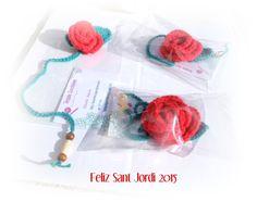 Terapia Ganchillera: Mis rosas para Sant Jordi 2015