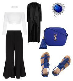 """Niebieskie dodatki"" by aleksaaryal on Polyvore featuring Bling Jewelry, Peter Pilotto, Dorothy Perkins and Yves Saint Laurent"