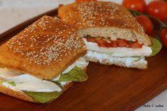Kartoffelfaser-Sandwichbrot / pofiber-sandwichbread (Low Carb / Keto)
