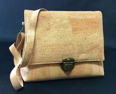 CORK HANDBAG NATURAL Cork, Messenger Bag, Satchel, Bags, Handbags, Satchel Bag, Totes, Hand Bags, Purses