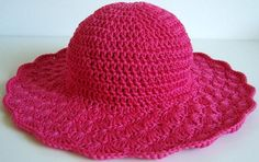 Shell Brimmed Sun Hat | Craftsy